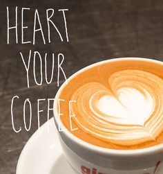 How to Make a Latte Heart (Photos & Video) by designsponge: Easy! Thanks to @Elizabeth Silbermann! #Latte #Heart