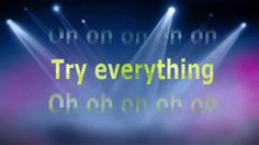Shakira - Try Everything (Zootopia) Lyrics Video