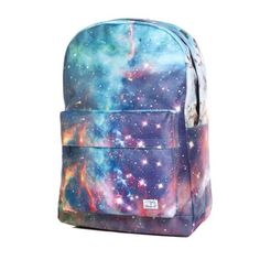 You'll turn some heads in this Spiral Neptune Galaxy Backpack ! School Backpacks, Galaxy Backpack, Galaxy Images, Spiral Galaxy, Galaxy Print, Small Leather Goods, Jansport Backpack, New Bag