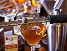 Spiced Manhattan Cocktail | A Spicy Perspective