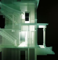 Do Ho Suh, Home Within Home , 2008-2011 — photo sensitive resin, 86.14 x 95.69 x 101.12 inches / 218.8 x 243.04 x 256.84 cm. Courtesy the artist and lehmann maupin gallery, new york