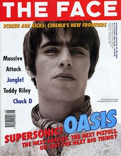 Liam Gallagher - Oasis on The Face Gene Gallagher, Lennon Gallagher, The Face Magazine, Liam And Noel, The Next Big Thing, Britpop, Music Magazines, Long Time Ago, The Good Old Days