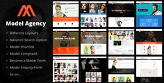 Models - Fashion Model Agency WordPress Theme by kayapati  Fashion Model Agency WordPress ThemeThis WordPress theme is best suited for Modelling Agencies, Talent Management Companies, Cast
