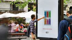 #‎Coca‬-Cola and digital signage teamed up to bring some added color and a cool drink to the hot Australian summer.