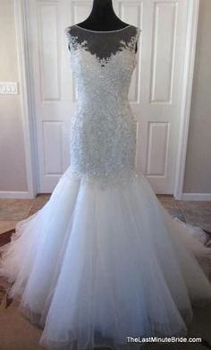 Private Label by G Kenneth Winston 1563, find it on PreOwnedWeddingDresses.com