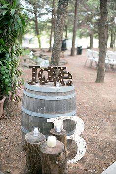 #wine #barrel wedding #decor @weddingchicks