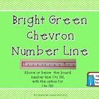 This number line can be used above or below your white board. Numbers from 1 to 100 or 120.    Just print, cut, glue, and laminate!  ...