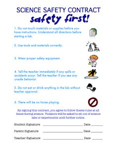 Teaching in an Organized Mess: Science Safety