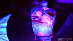 Halloween will never be the same when you make this glow-in-the-dark cocktail