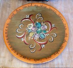 A personal favorite from my Etsy shop https://www.etsy.com/listing/453412302/vintage-spruce-wood-souvenir-plate-with