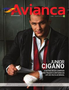Avianca em revista Junior Cigano #33