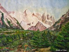 GALERIA PALOMO MARIA: RUMBO AL TORRE Patagonia, Painting, Art, Landscape Paintings, Towers, Argentina, Art Background, Painting Art, Kunst