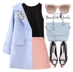 """beautifulhalo"" by jiabao-krohn ❤ liked on Polyvore featuring WithChic, STELLA McCARTNEY, Gucci, Accessorize, Alice + Olivia and beautifulhalo"