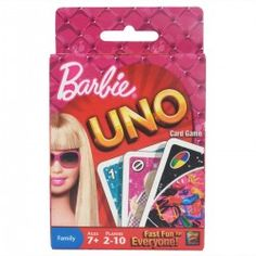 Befriend Barbie in this interesting UNO card game! Time to start a trend in style with the style card and rule. Shout UNO before you emerge victorious.