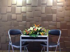 Elegant 3D Wandpaneele | Wanddesign | Bambusplatten RUBIK   Interior In Hotels U2026