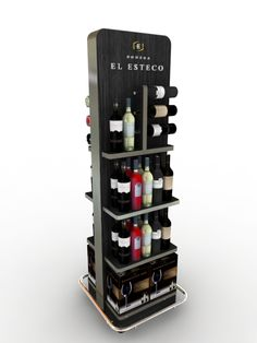Retail Point of Purchase Design | POP Design | Alcohol & Soft Drinks POP | pinned by room one