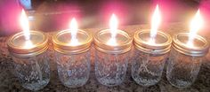 Prepper Yogini: DIY liquid paraffin candles