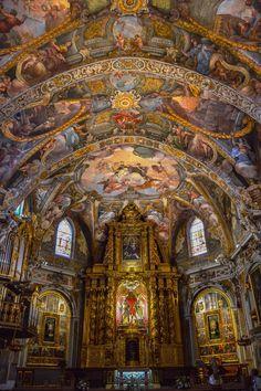 Altar Mayor, Iglesia de San Nicolas de Bari y San Pedro Martir (Valencia - Spain)