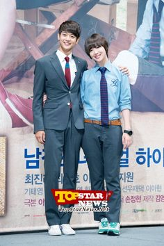 Min Ho and Sulli's couple photos…'To the Beautiful You' Production Report Conference [KDRAMA]
