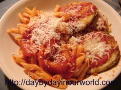 Blog post at Day By Day in Our World : With the help of my 8 year old son, we tried our hand at making homemade eggplant parmesan a few weeks back. The verdict was mixed as the [..]