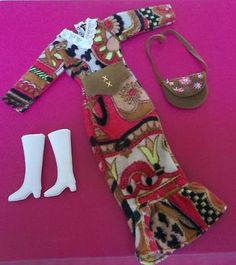 Vintage Clone Barbie Doll Hk Clothing Shillman Maddie Mod Raincoat ...