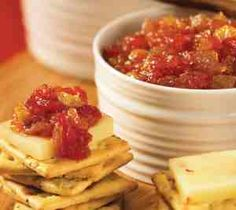 Apple and Tomato chutney .... recipe available at www.leenaspices.com