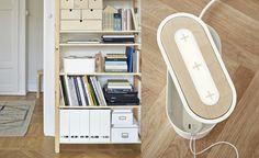 Wood Furniture, Living Room Furniture, Ikea New, Ideas Geniales, Power Strip, Decoration, Game Room, Smartphone, Storage
