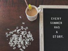 summer lovin. summer letterboard. summer quotes. summer. letterboard. letterfolk.