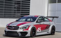 Download wallpapers Mercedes-Benz CLA 45, 2017, AMG, C117, tuning, racing car, CLA tuning, Mercedes