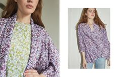 Stevie Howell Studio is a California-based design studio. Shop of eco-friendly home textiles, wallpaper and luxury loungewear in our original prints. Somerset Collection, Cotton Silk, Silk Top, Warm Weather, Lounge Wear, Kimono Top, Textiles, Casual, Sleeves