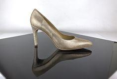 Zapatos stiletto con tacones en glitter ¡tendencias personalizadas!