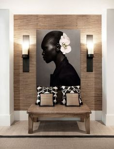 INTERIOR Dining room decor and stylish lighting pieces. Discover trendiest chandeliers, wall and flo African Interior Design, African Design, Modern Interior Design, African Art, African Theme, African Home Decor, Entry Way Design, Style Deco, Deco Design