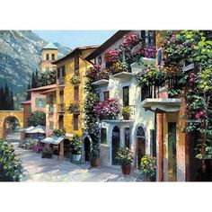Found it at Joss & Main - Village Hideaway by Howard Behrens Painting Print on Canvas