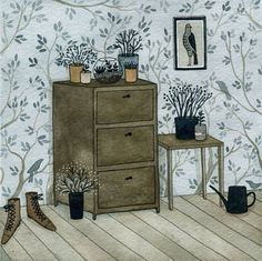 houseplants (print)