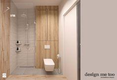SZCZYPTA KOLORU NA SZCZĘŚLIWICACH - Mała łazienka, styl nowoczesny - zdjęcie od design me too