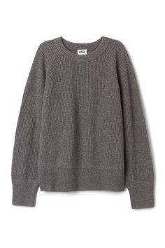 Weekday image 3 of Flora Sweater in Dark Grey