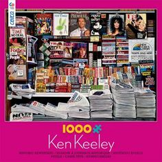 Ceaco Perfect Piece Count Puzzle Ken Keeley Great Magazine Covers