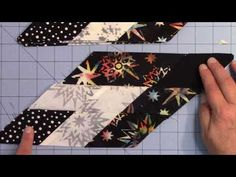 Twinkle Star Tutorial Lesson 3 includes lessons and videos. It is part of the tutorial showing step-by-step how to piece the Twinkle Star pattern.