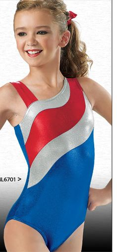 Shop Patriotic Gymnastic Leotard ML6701
