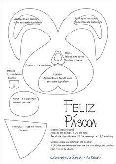 MOLODES DEL CONEJO DE PASCUA DE CARMEN SILVA