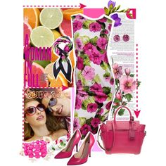 Summer, created by valeria-87 on Polyvore