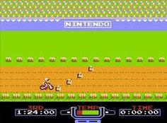 Nintendo: Dirt Bike Rider (Classic) one of my favorite games growing up