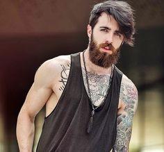 Mens Fashion Hipster – The World of Mens Fashion Scruffy Men, Hairy Men, Bearded Men, Beard Styles For Men, Hair And Beard Styles, Hipster Outfits, Fashion Outfits, Beard Suit, Urban Fashion