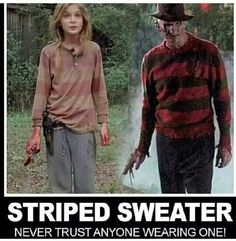 Its the sweater