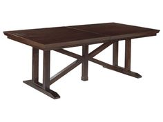 Hickory Chair Dining Room Gallery Trestle Dining Table