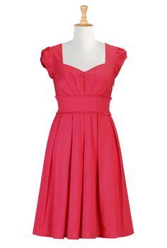 Pink Dresses For Women , Catalog Clothing All Sizes Special Occasion Dresses - Women's Fashion Dresses - Missy, Plus, Petite, Tall, 1X, 2X, 3X, 4X, 5X, 6X - | eShakti.com