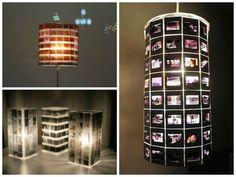 Recicle: faça uma luminária com negativos de filme fotográfico