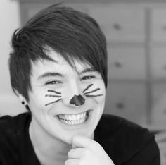 from the video Phil is not on fire 5 ♥ so cute!!