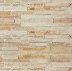 DESERT SAND SANDSTONE HAND-CHIPPED Tiles Price, Splashback, Updated Kitchen, Stone Tiles, White Marble, Cladding, Natural Stones, Kitchen Design, Brick