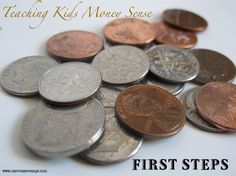 April is Financial Literacy for Youth Month! Kids & Money – Two First Steps